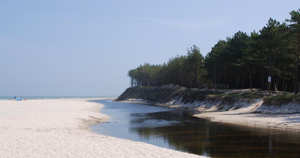 plaża bałtyk