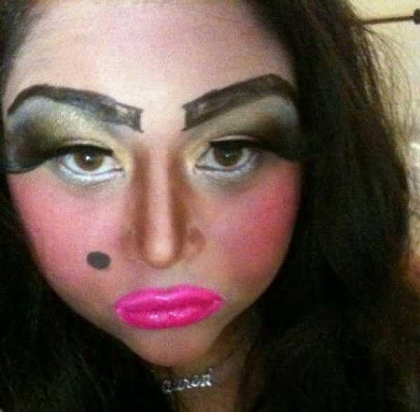 fatalny makijaz