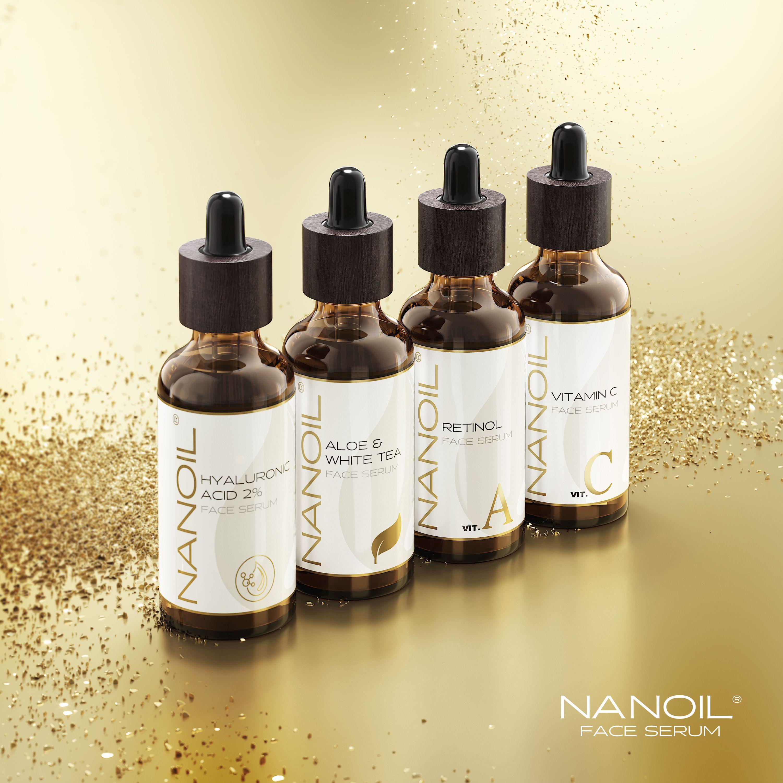 serum do twarzy nanoil z aloesem